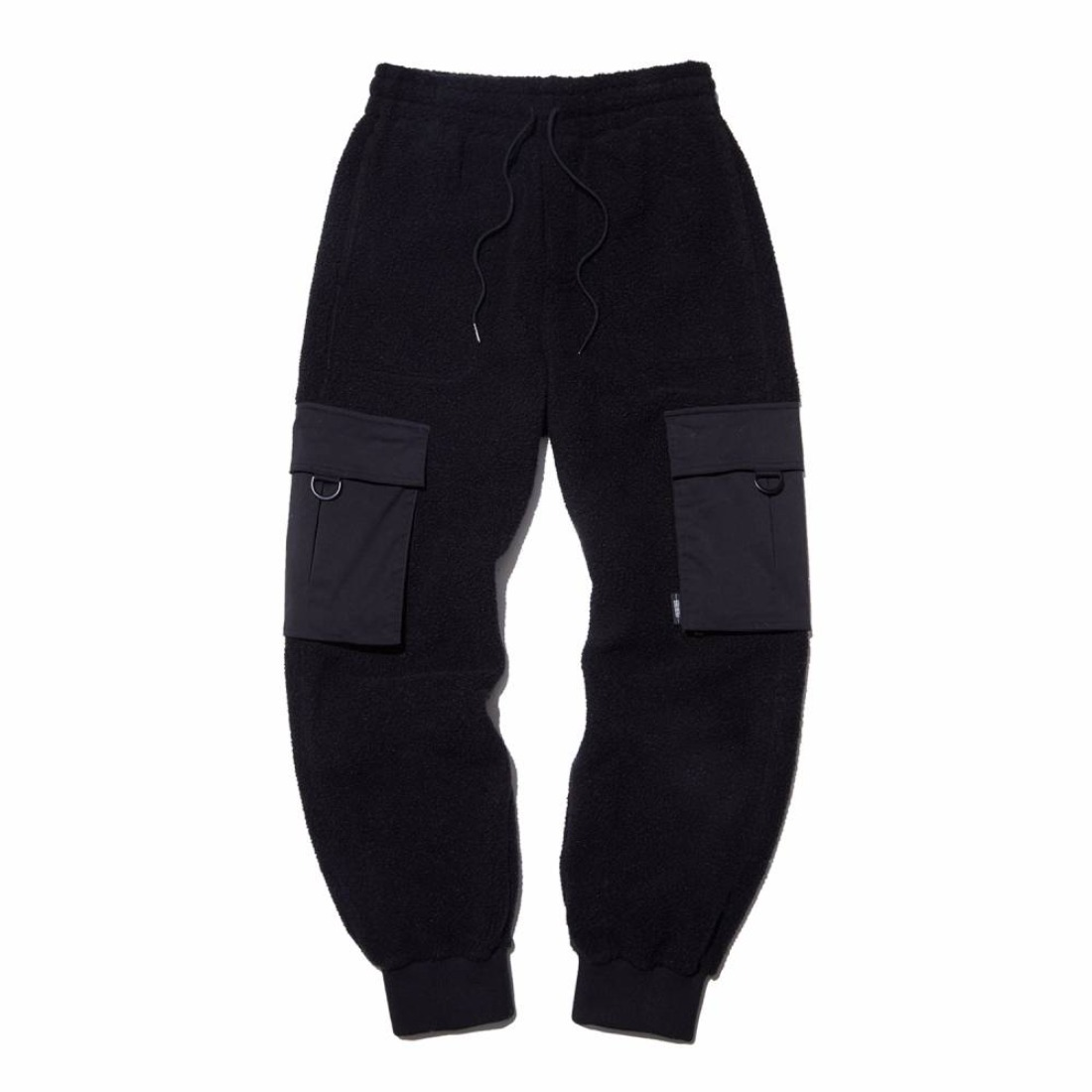 SHERPA CARGO PANTS BLACK