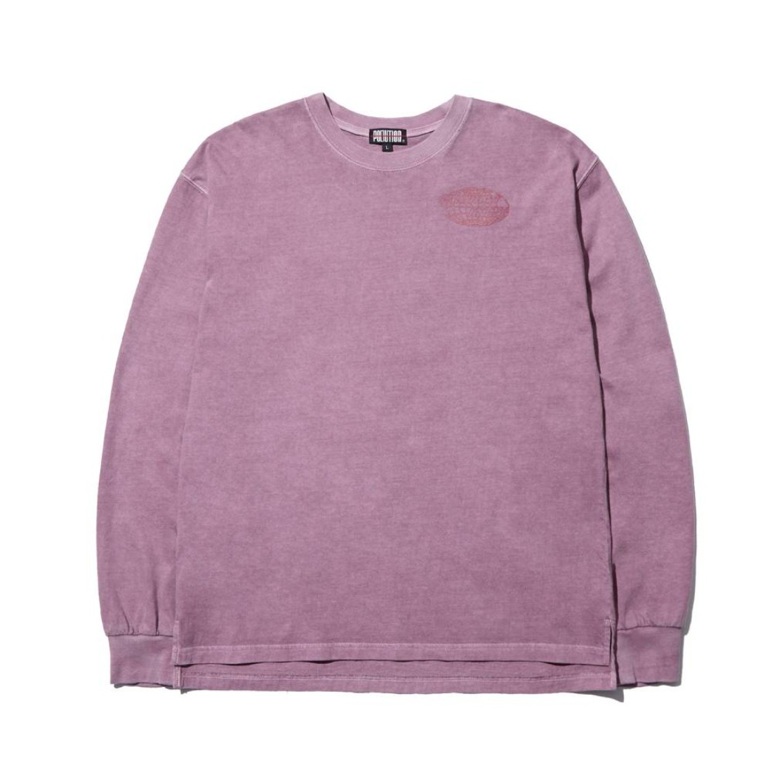 PIGMENT DYE GRAPHIC TEE FADED VIOLET